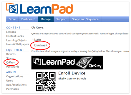 Innovative Learning Resource Using LearnPad
