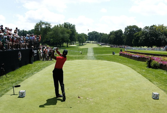 Woods Won The Bridgestone Invitational For 8th Time