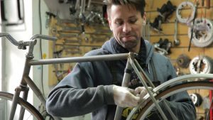 Building A Bicycle With Recycled Parts