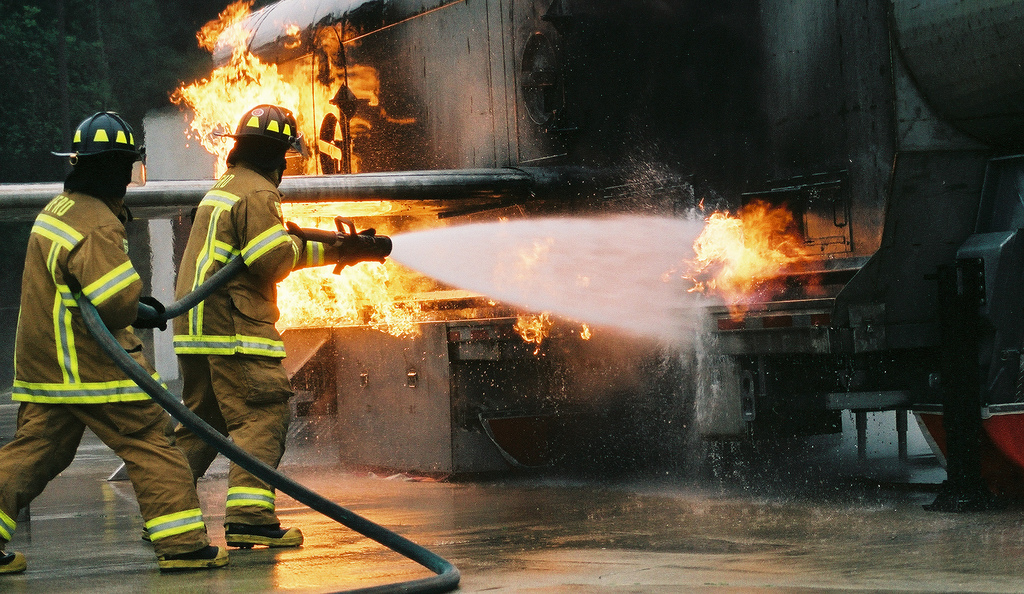 The Health Risks Of Firefighting