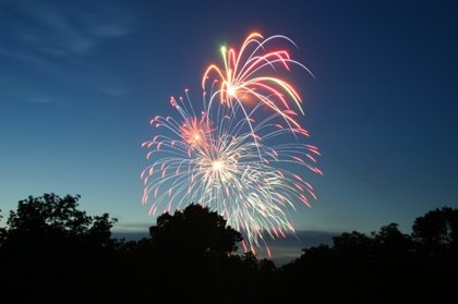 Celebrate The Holidays With A Bright Fireworks Display