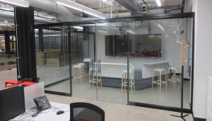 Glass Partitions Add Light And Space To A Building