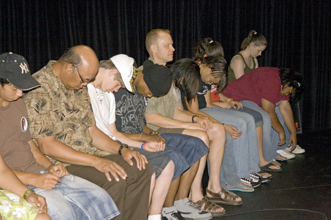 Bruce Black's comedy hypnosis show