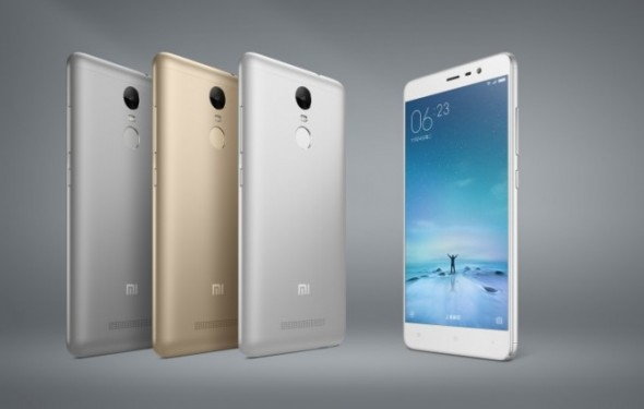 Xiaomi Unveils Redmi Note 3  5.5-Inch Full-HD Display And A Fingerprint Scanner