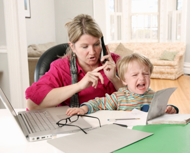 Working From Home + Kids