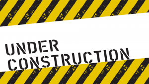 Beware Construction Is Ongoing