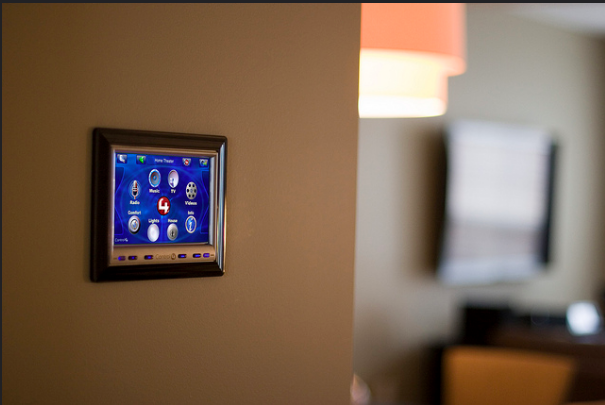 Control 4 Wall Mounted Touchpanel Control Gramophone Maryland Flickr