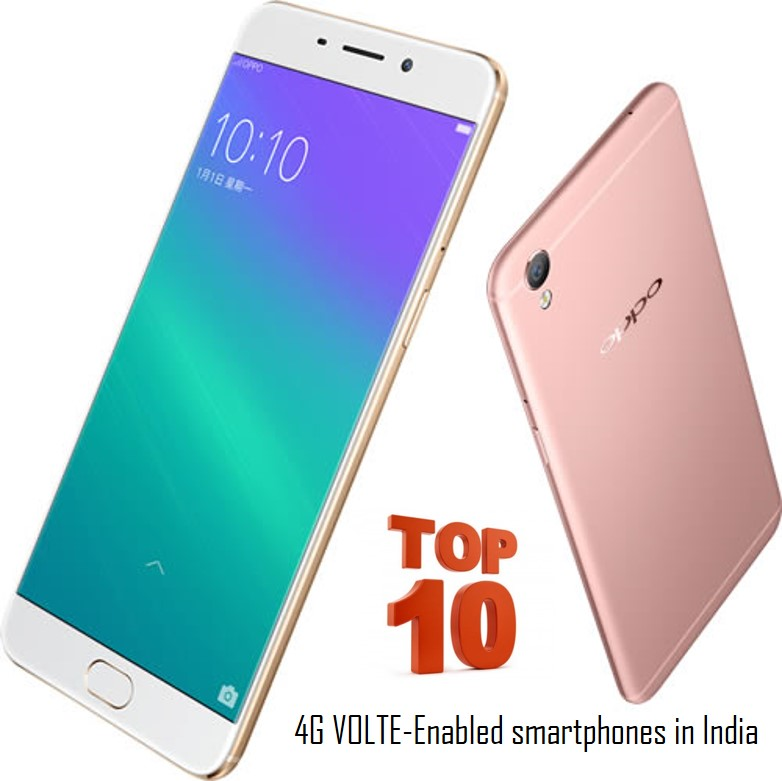 Top 10 4G VoLTE-Enabled Phones You Can Buy In India