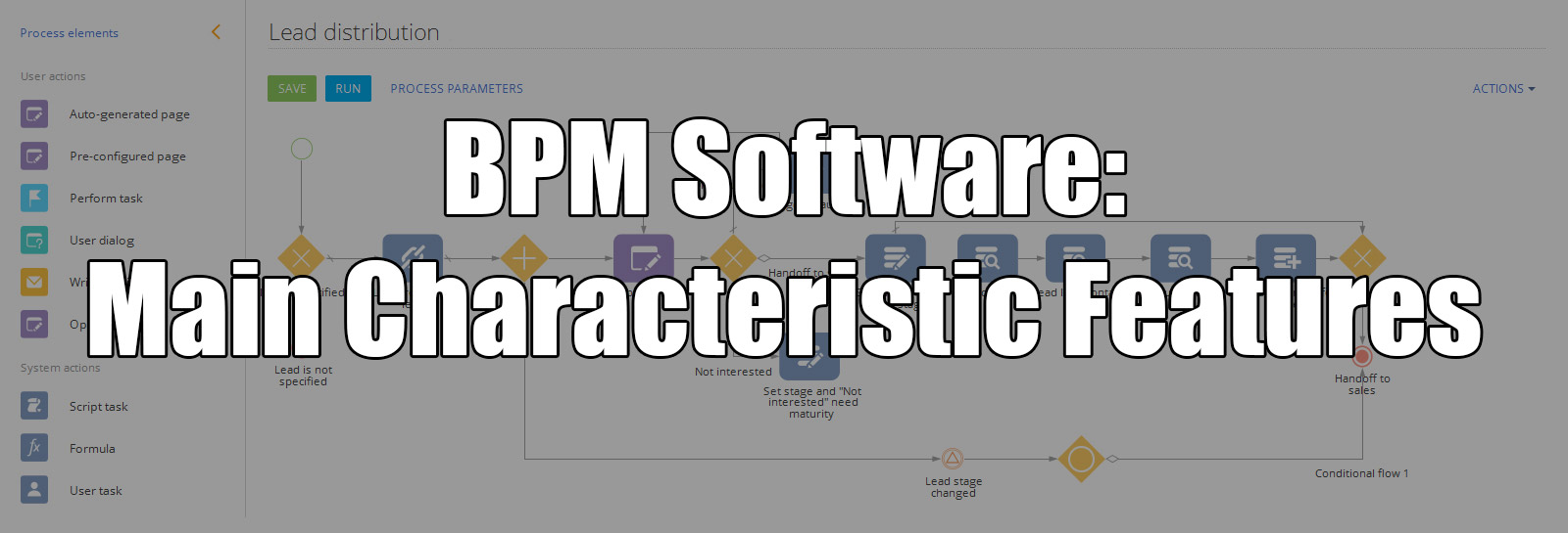 BPM Software: Main Characteristic Features