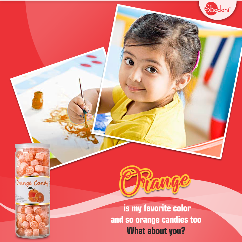 Orange candy Wholesalers