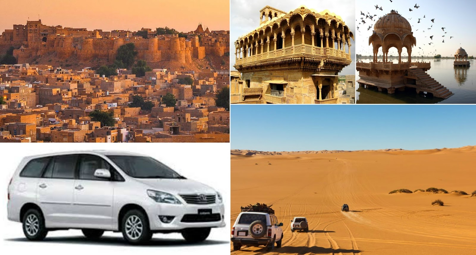 Jaisalmer Sightseeing With Royal Taxi Cabs