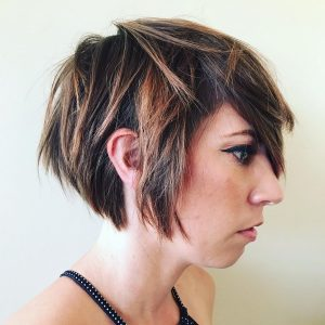 Stylist Hairdos For Short Layers