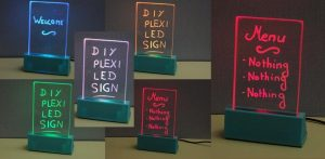 Illuminate Your Space With LED Sign!