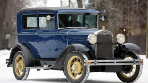 A Short Story Of The Ford Model A