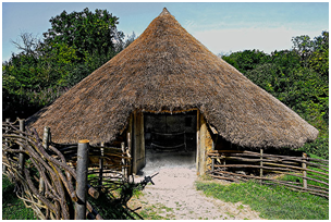 The Fun Of An Iron Age Roundhouse