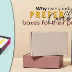 Why Every Industry Prefer Cardboard Boxes For Their Products?