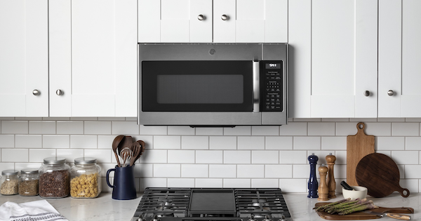 Here's An Easy Way to Install Over-the-Range Microwave Oven with Vent Fan